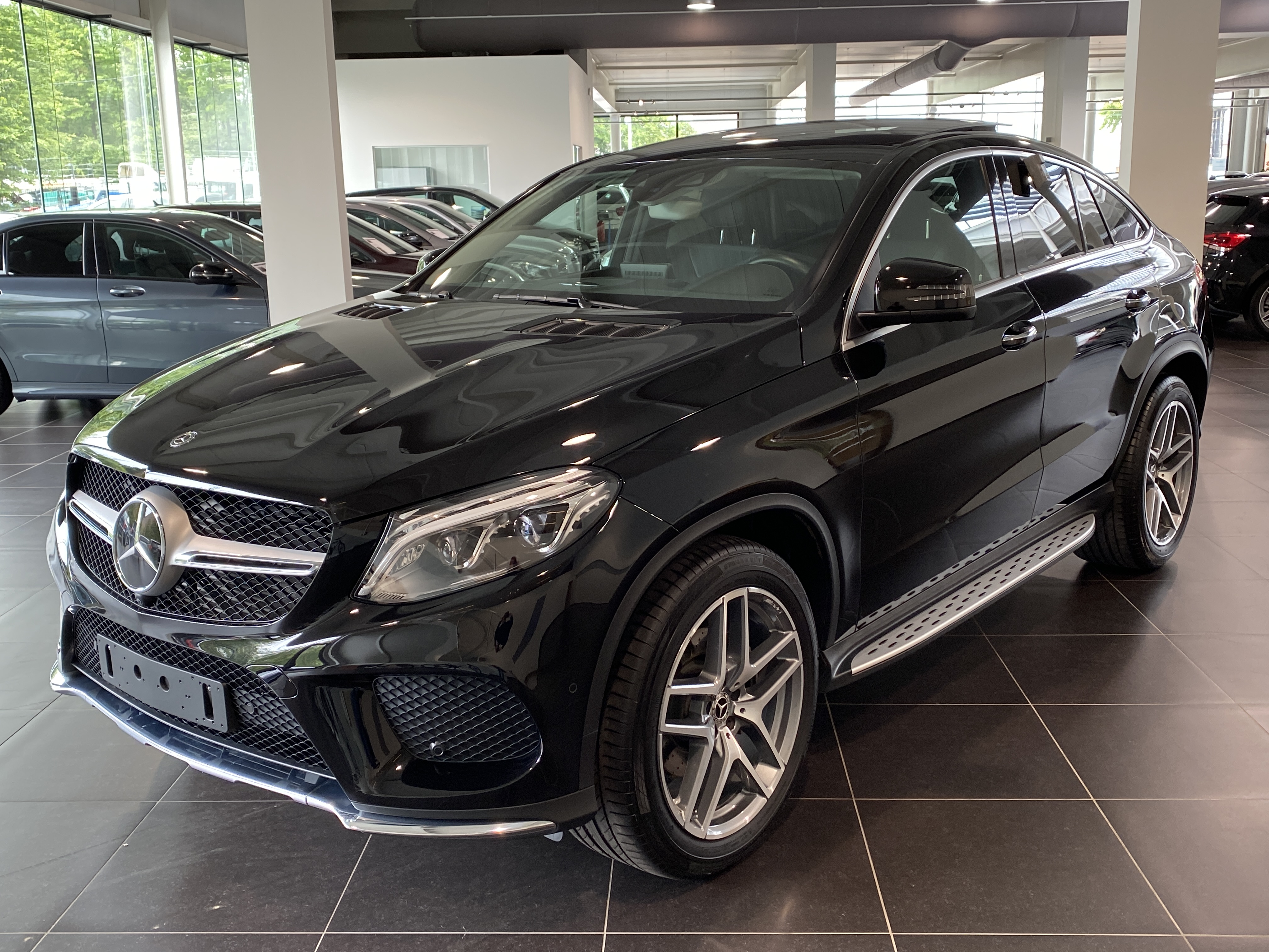 MERCEDES-BENZ GLE 350 d 4M Coupe Panorama, Distronic, Keyless-Go, Memory Seats