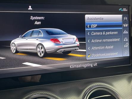 MERCEDES-BENZ E 200 d Amg Dodehoeks Assist, Achteruitrij Camera, Led High Performance